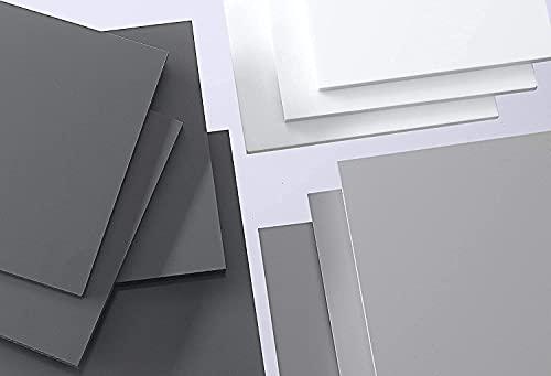 nattmann PVC Hartplatte weiß 2-20 mm Zuschnitt SIMONA® RÖCHLING® TROVIDUR® (2 mm, 245 x 245 mm)