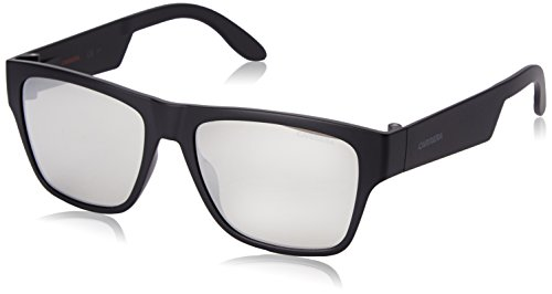 Carrera 5002/St SS Gafas de sol, Negro (Matte Black/Grey Grey Speckled Silver), 55 Unisex-Adulto