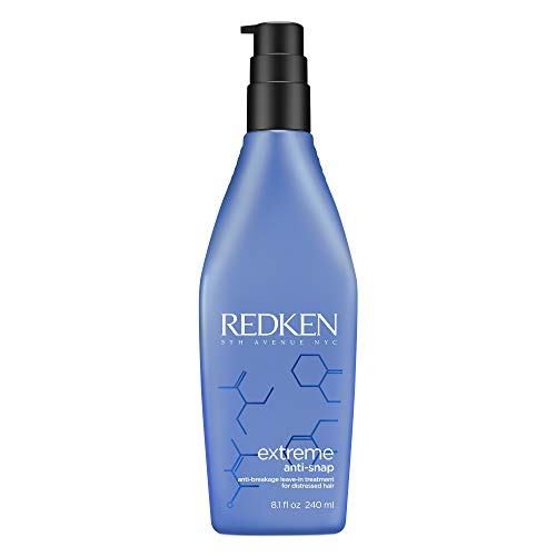 Redken Extreme Anti-Snap Leave-In Hair Treatment, Hitzeschutz-Creme Kur, Intensivpflege gegen Spliss und Haarbruch, für strapaziertes Haar, Haar-Kur ohne Ausspülen, 240 ml