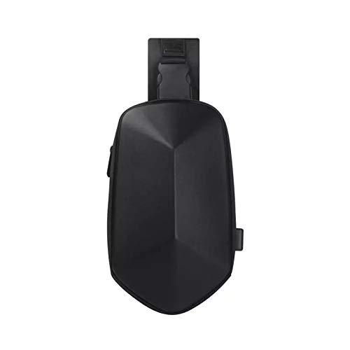 Man Bag Sling Bag Chest Bag Polyhedron Chest Bag, Waterproof Usb Male And Female Messenger Bag, Shoulder Bag, Portable Leisure Backpack, 31 * 18.5 * 8Cm