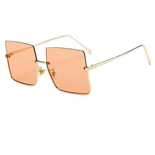 Duulo Gafas de sol con ribete de metal paramujer