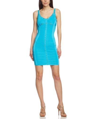 jane norman Damen Kleid (Mini) 37680, Gr. 40 (UK 14), Türkis (Turquoise)