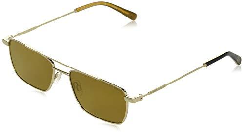 Sergio Tacchini heren zonnebril, goud, 55/17-145