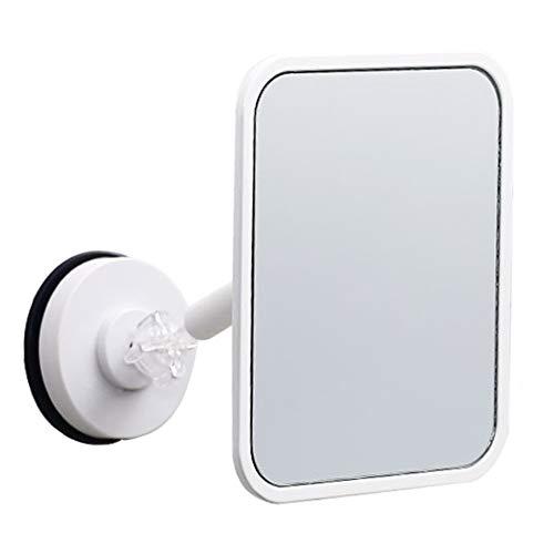 Miroir Miroir Maquillage Ventouse Murale HD pour dortoir Mural Gratuit ZHANGAIZHEN (Couleur : Large)