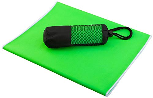 """Microfiber Towel Outdoor Camping, Compact and Lightweight Backpack Towel,(39.3""""x23.6"""") Fast Drying-high Absorption Super Soft,for in Yoga ,Sports,Gym,Travel,Beach, Swimming"""