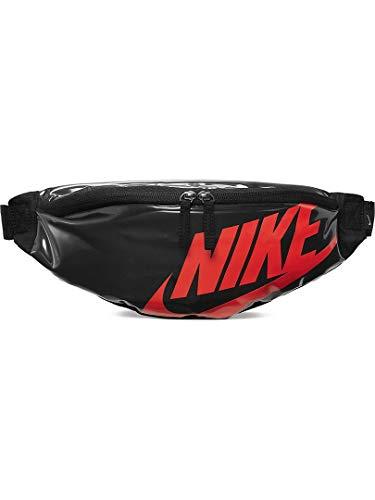 Nike CK7914-010 Sac banane de sport unisexe, noir/laser, taille unique