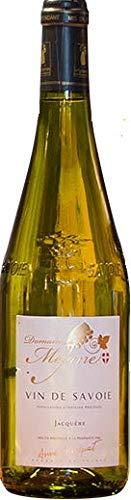 Jacquère trockener weißer Savoie-Wein, 2019 AOP Récoltant, 1 Flasch à 75 cl