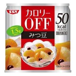 SSK カロリ−OFF フルーツみつ豆 185g×24個入