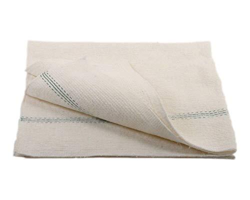 1-PACK Scheuertücher aus Nadelvlies extra stark 60 x 70 cm, weiß, 100 Stück