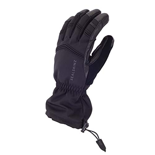 SealSkinz Waterproof Extreme Cold Weather Gauntlet Gants Mixte, Noir, M