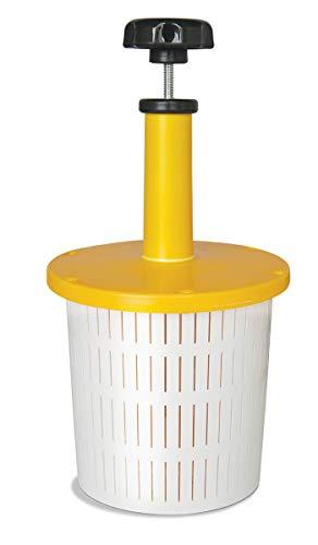 Pressa per Formaggio con manometro - 2 L Forma plastica per Formaggio