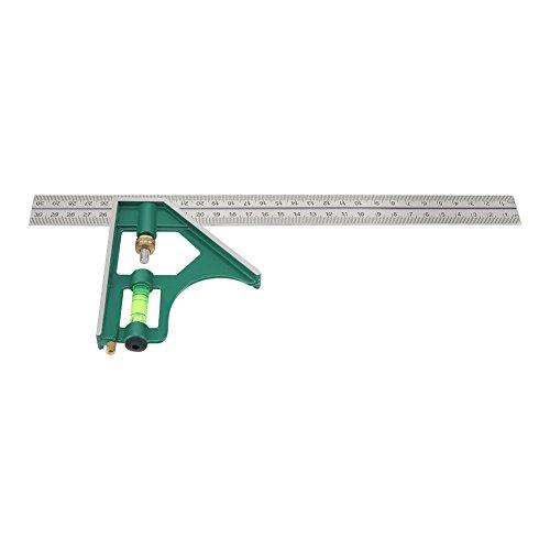 Kombinationswinkel, 300mm Kombination Square Winkel Lineal 45/90 mit Wasserwaage starrett kombinationswinkel