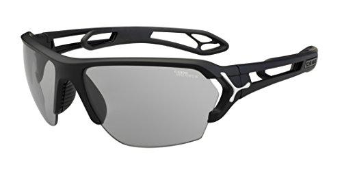 Cébé STrack, Gafas de Sol, Negro Mate, L