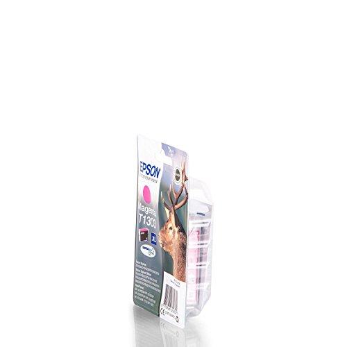 Original Epson C13T13034010 / T1303, für Workforce WF-7515 Premium Drucker-Patrone, Magenta, 580 Seiten, 10,1 ml