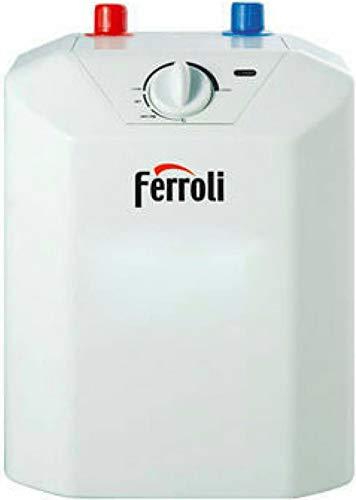 Scalda acqua elettrico 10 Lt scaldabagno sottolavello - Ferroli NOVO - bollitore vetroporcellanato