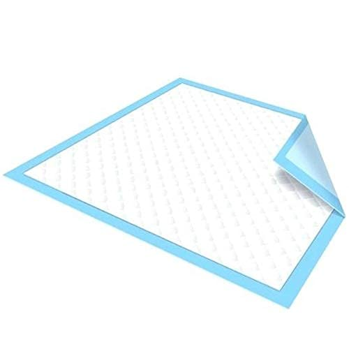 Ultra Absorbent Disposable Bed Pads with Adhesive - 36 x 36 - Extra Thick Underpad Bed Cover Chux for Bedwetting Incontinence Furniture Pets & More - 40 Pack