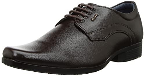 BATA Men's BOSS-ACE Brown Uniform Dress Shoe-7 UK (8214026)