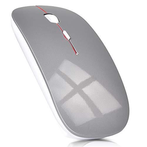 ワイヤレスマウス 超薄型 静音 無線 マウス 省エネルギー 2.4GHz 3DPIモード 高精度 持ち運び便利 Mac/Wind...