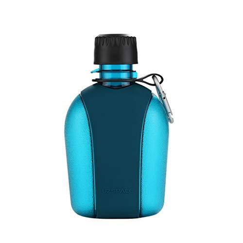 Botella deportiva de ,500ml, 600ml, 950ml, plástico Reutilizable a Prueba de Fugas, ecológico, Adecuado para Correr/al Aire Libre/Senderismo/Camping/Gimnasio,cantimplora,Botella de Agua,Bote