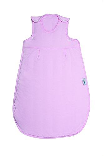 Schlummerzak, slaapzak, het hele jaar door gevoerd in 2,5 takken, verkrijgbaar in verschillende maten en designs, voor jongens en meisjes 56 cm roze