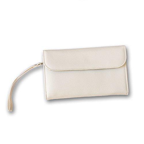 Balvi Billetero & batería Auxiliar Energy Color Blanco
