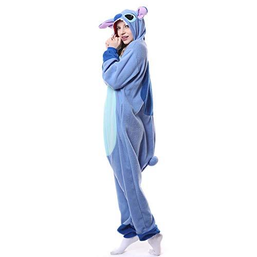 WEAKD Pijamas Animales Pink Stitch Polar Fleece Disfraz
