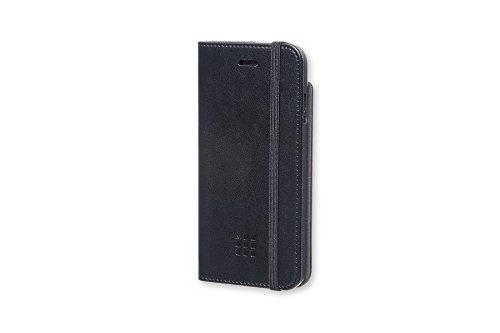 Moleskine, Funda Clásica con Tapa Para IPhone 6/6s/7/8, Funda Protectora Tipo Libro Para Smartphone, Incluye Agenda Volant XS Para Notas, Color Negro