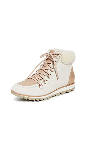 Sorel Harlow Lace Lux Boots 38.5 EU Natural