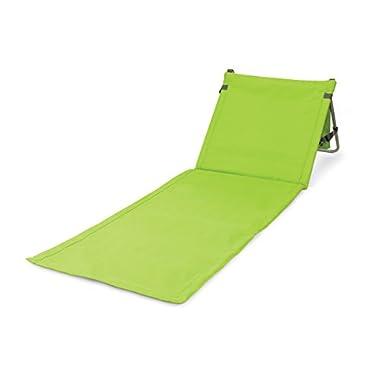 ONIVA - a Picnic Time brand Beachcomber Portable Beach Mat, Lime Green