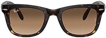 Ray-Ban Unisex RB4105 Folding Wayfarer Square Sunglasses