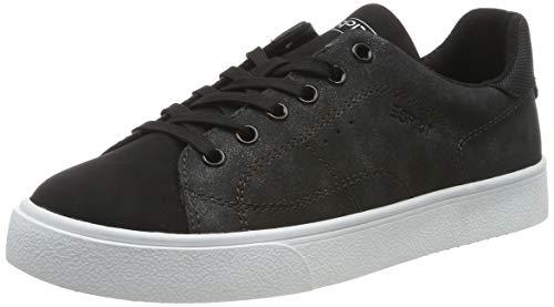 ESPRIT Damen Cherry LU Sneaker, Schwarz (Black 001), 39 EU