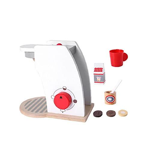 Drewniane zabawki drewniany ekspres do kawy trwały drewniany kuchnia zabawki dla dzieci kreatywne zabawki edukacyjne dla dzieci artykuły dla dzieci