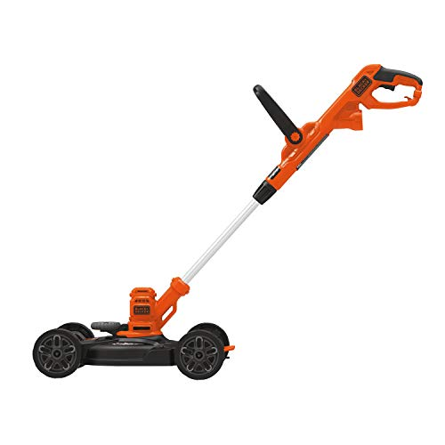 BLACK+DECKER 3-in-1 Cordless Lawn Mower, String Trimmer & Edger, 12-Inch...