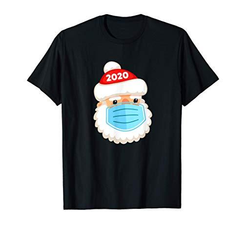 Maschera da Babbo Natale - Funny Quarantine Christmas 2020 Maglietta