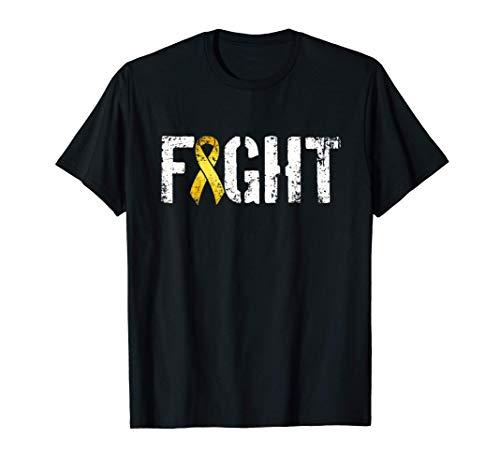 Lucha contra el cáncer infantil Cinta de conciencia de Camiseta