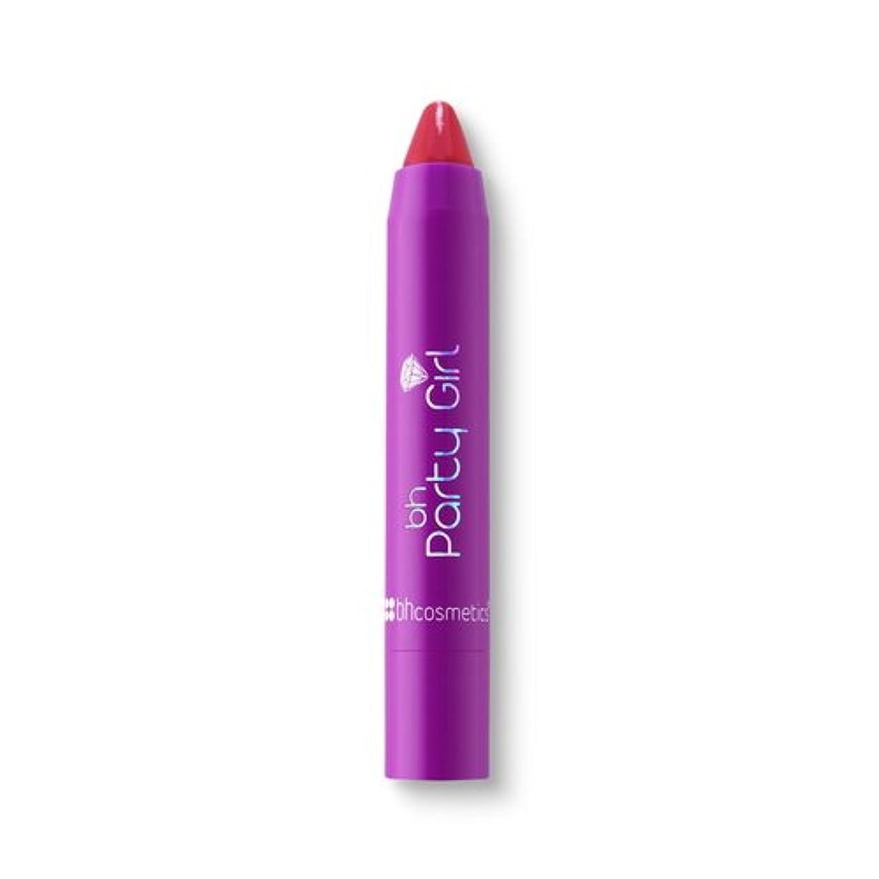 集団プラスチック世代(3 Pack) BH Cosmetics Party Girl Twist Moisturizing Balm Stick - Curfew (並行輸入品)