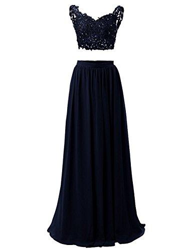 WADAYUYU Damen A-line Elegant Abendkleider Abendkleid Lang Ärmellos Ballkleider Brautjungfernkleid...