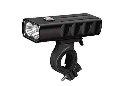 KALTAK Fahrradlicht vorne LED Frontlicht 1000 Lumen Superhell Fahrradbeleuchtung StVZO Zugelassen Led Taschenlampe Fahrradlampe 2600mAh Akku USB Aufladbar Wasserdicht IPX5 Staubdicht