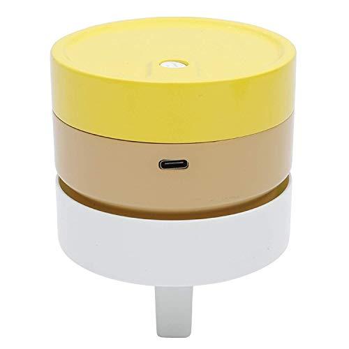NICERE Aspirador de escritorio de reemplazos, batería recargable operada, barredora de polvo de miga de mesa inalámbrica portátil