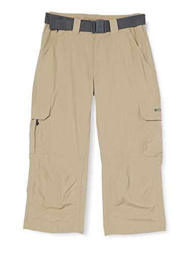 Columbia Silver Ridge II Pantalon de Randonnée Convertible Homme, Beige (Fossil), 36W / 32L