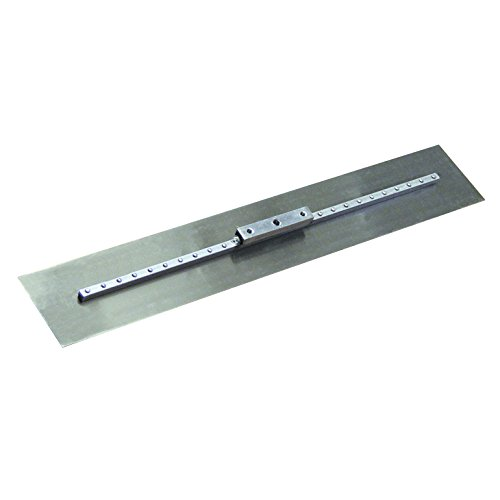 Bon 82-332 Spring Steel Fresno Trowel, Square End 36-inch x 5-inch