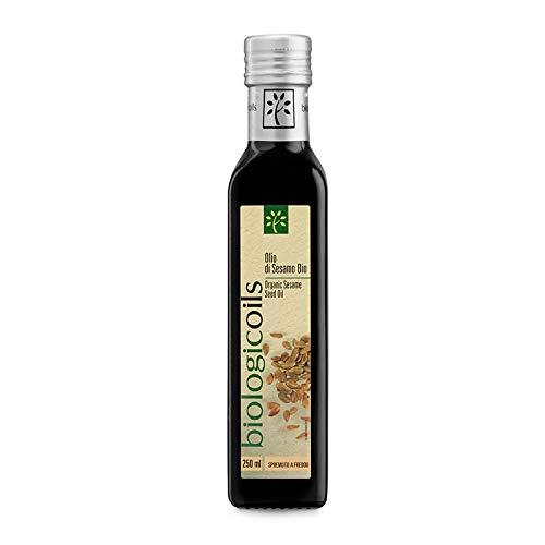 biologicoils 有機ヴァージンごま油 250ml (コールドプレス製法)