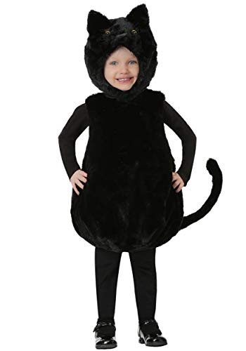 Toddler's Bubble Body Black Kitty Costume 2T