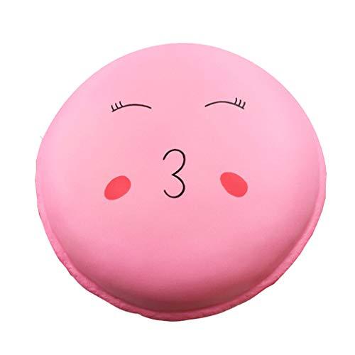 Weiche Dessert Rebound-Pu-Spielzeug Spielzeug Reizendes Stressabbau-Spielzeug Entzückende Squishies Kawaii Jumbo Macaroon Riesiger Macaron-Keks Squeeze Quetsch Slow Rising Stress Relief Toys