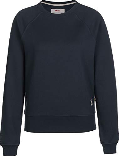 FJALLRAVEN Greenland Sweater W Femme, Marine (Dark Navy), XL