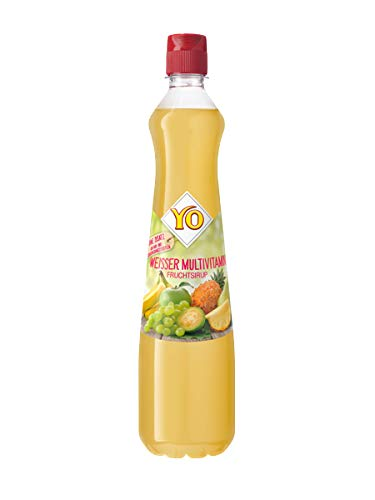Yo Sirup (Weisser Multivitamin), PET - 0.7L - 6x