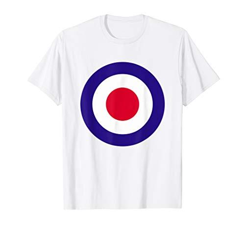 Mod Target T-Shirt Retro Mods Arrow…