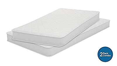 Signature Sleep 6146119SET Conventional Bed Mattress, Set of 2: Twin Full, White