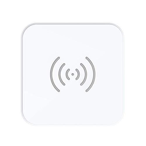CHOETECH Caricabatterie Wireless, 7.5W Ricarica Wireless Rapida per iPhone 12 Mini/12 Pro/11/11 PRO/XS/XS Max/XR/X/8/8 Plus, 10W per Galaxy S20/S10 Plus/S9 Plus/S8/S8 Plus/Note 8, 5W per Airpods 2/Pro