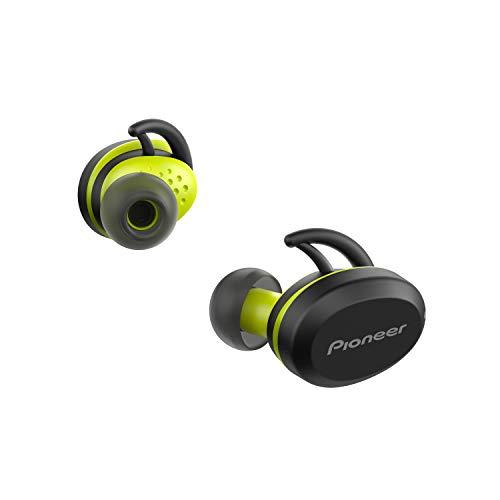 Pioneer E8TW-Y - Cuffie wireless Truly (Bluetooth, In-Ear, Sport, 3 ore di autonomia per carica), colore: Giallo